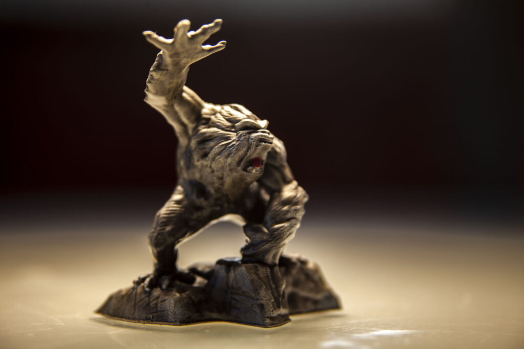 Yeti_3d_Printed_and_Painted